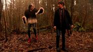 5x15 Forêt des Enfers Cruella d'Enfer Henry Mills poussières avancer seul