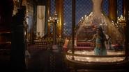 6x05 Jafar Jasmine salle du trône Agrabah sultan sablier magique géant