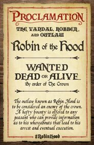 Robin hood wanted