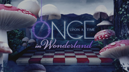 Once Upon a Time in Wonderland logo titlecard générique épisode W1x03