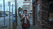 1x10 Storybrooke rue principale Mary Margaret Blanchard matin marche