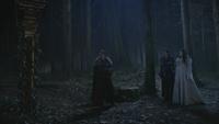 3x19 forêt porte David Regina Blanche-Neige Glinda