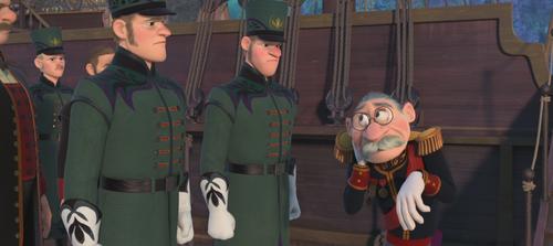 La Reine des Neiges (Disney) gardes d'Arendelle Duc de Weselton nuque bloquée épilogue