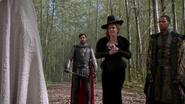 5x08 Camelot Zelena Méchante Sorcière Merlin contrôlé Roi Arthur Zelena veut se battre Excalibur