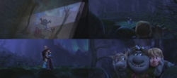 La Reine des Neiges (Disney) Elsa Anna enfant Roi Reine d'Arendelle Trolls de pierre Kristoff Sven Bulda livre