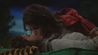 5x18 Dorothy Gale Ruby Chaperon Rouge Charme du Sommeil baiser Véritable Amour