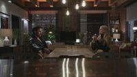 3x12 Killian Jones Capitaine Crochet Emma Swan New York appartement verres