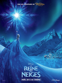 La Reine des Neiges Disney affiche