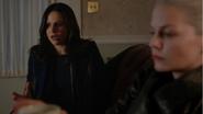 5x10 Regina Mills Emma Dark Swan reproches conséquences actes transformation Crochet Ténébreux souvenirs attrape-rêves