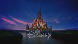 Château de la Belle au Bois Dormant logo Disney