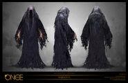 Wraith Turnaround Concept Art