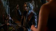 2x16 Rumplestiltskin Cora démonstration magie fil d'or
