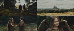 Maléfique film 2014 enfant forêt Stéphane château bague