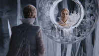 4x05 Ingrid Reine des Neiges grotte de glace miroir magique restauré