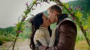 2x03 Blanche-Neige Prince David Charmant baiser mariage
