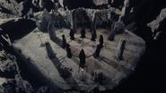 7x10 Clan des Huit sorcières symbole rituel sorcellerie