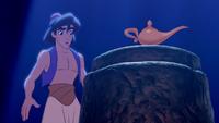 Aladdin (Disney) lampe magique Génie Caverne aux Merveilles