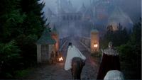 4x13 Blanche-Neige Prince David arrivée palais royal retour lune de miel Dormeur