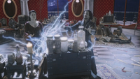 W1x12 Amara Jafar Alice Cyrus Palais Reine Rouge lois magie