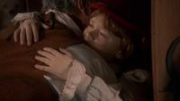 1x20 Pinocchio Geppetto adieux étreinte câlin armoire magique