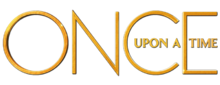 Once Upon A Time Logo Or Fond Blanc