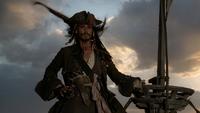 Pirates des Caraïbes La Malédiction du Black Pearl Capitaine Jack Sparrow apparition