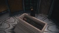 2x09 Méchante Reine Regina Cora cercueil crypte mausolée enterrement cérémonie entretien privé adieux