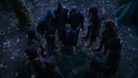 3x01 Henry Mills Peter Pan Enfants Perdus cercle piège traquenard