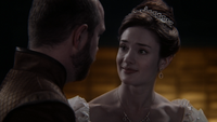3x18 Roi Prince Leopold Reine Princesse Eva promesse enfant pure neige