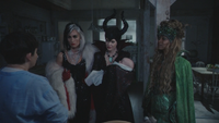 4x13 Mary Margaret Blanchard Cruella d'Enfer Maléfique Neal Nolan Ursula Reines des Ténèbres cauchemar