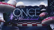 Once Upon a Time in Wonderland logo titlecard générique épisode W1x04