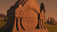 5x12 Killian Jones pierre tombale tombe