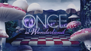 Once Upon a Time in Wonderland logo titlecard générique épisode W1x05