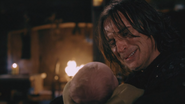2x14 Rumplestiltskin Baelfire bébé chaumière cheminée serment promesse abandon