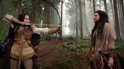 2x20 Blanche-Neige arc flèche pointe Méchante Reine Regina Wilma démasquée