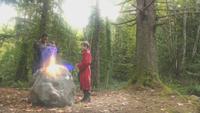 5x07 Merlin jeune Apprenti Sorcier Excalibur plantation épée rocher magie magique