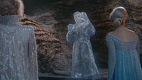 4x03 Reine des Neiges Hans statue de glace Elsa