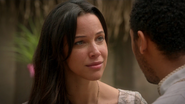 5x07 Nimue humaine sourire regard Merlin amoureux