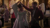5x02 Bal Camelot Regina Perceval discussion