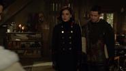 6x11 Regina Mills Robin de Locksley uchronie départ