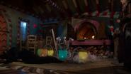 7x17 Zelena tombée défaite sorcière cannibale maison en pain d'épice