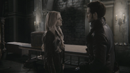 3x22 Emma Swan Killian Jones Capitaine Crochet Château des Ténèbres cave