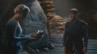 4x03 Elsa urne magique Kristoff grotte caverne vallée du nord