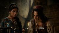 6x05 Jasmine Aladdin caverne aux merveilles diamant sabre équilibre regard