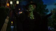 6x20 Zelena Méchante Sorcière de l'Ouest fin refrain chanson Wicked Always Wins bras écartés balai enchanté magique