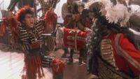 Hook ou la Revanche du Capitaine Crochet 1991 film mort Rufio duel