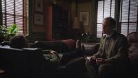 1x16 cabinet du Dr Hopper Archie Archibald Hopper patient David Nolan canapé divan hypnose