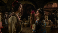 6x05 Aladdin Jasmine marché Agrabah discussion avenir