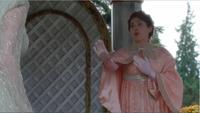 4x07 Gerda Ingrid Reine des Glaces mort Gerda pavillon jardins royaux Arendelle refus peur monstre urne