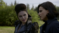 6x06 Méchante Reine Dissociée Reine Regina Sérum Regina Mills discussion menaces